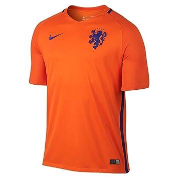Nike Selección de Fútbol de los Países Bajos 2015/2016 - Camiseta Oficial, Talla
