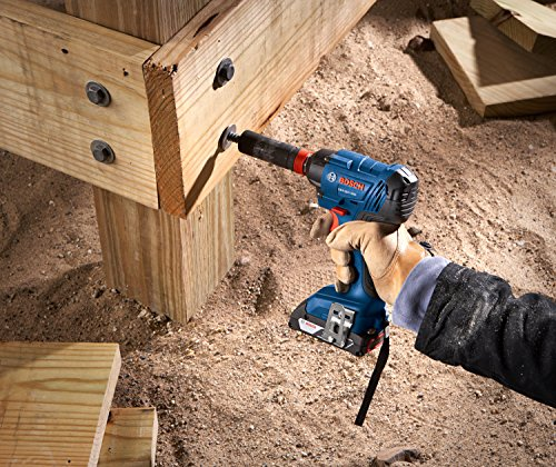 Bosch GDX18V-1600B22 Two-In-One Socket-Ready Impact Driver Kit