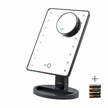 Amazoncom Showpin Lighted Vanity Mirror With LightsTabletop