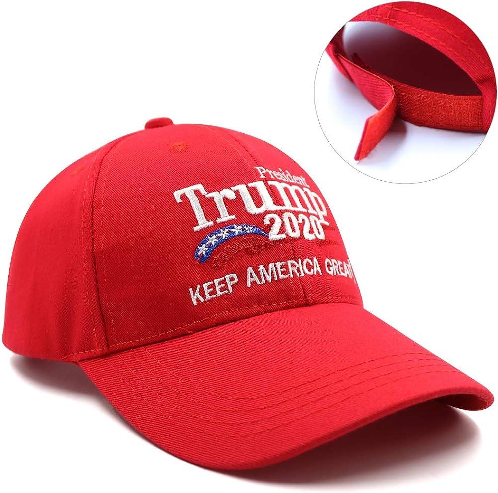 Keep Make America Great Again Baseball Hat Donald Trump 2020 USA Cap Adjustable