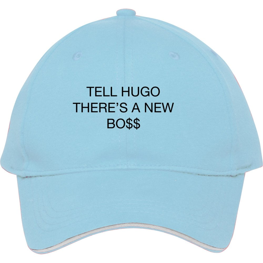 6da016d1c96 New Fashion Tell Hugo There s A New Boss Baseball Cap Snapback Hats  Adjustable Hat  Amazon.co.uk  Sports   Outdoors