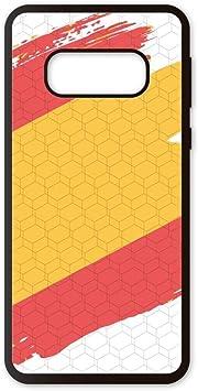 PHONECASES3D Funda móvil España Bandera para Compatible con Samsung Galaxy S10 E. Carcasa de TPU de Alta protección. Funda Antideslizante, Anti choques y caídas.: Amazon.es: Electrónica