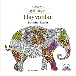 Hayvanlar Boyama Kitabi Mustafa Kupusoglu Yavuz Karakas Ilayda
