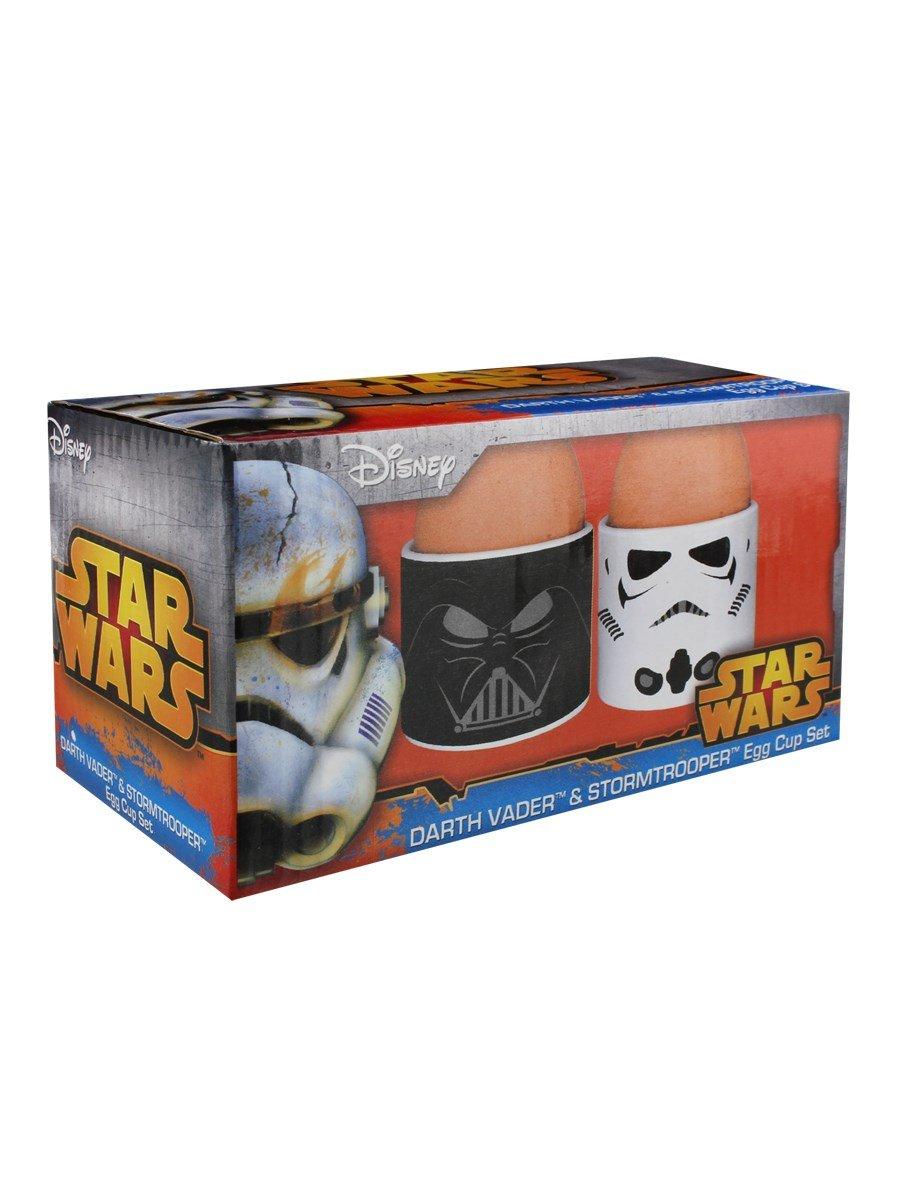 Half Moon Bay Star Wars ECP2SW02 14,5 x 8 B x 8 H T cm Darth Vader und Stormtrooper Eierbecher