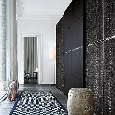 Panel decorativo autoadhesivo WallFace 15033 SNAKE de diseño piel de serpiente con relieve color negro mate 2,60 m2: Amazon.es: Bricolaje y herramientas