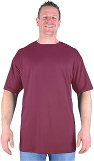 9d57d7fa433 Big Mens White Extra Tall T Shirt Nightshirt L XL 2XL 3XL 4XL 5XL ...