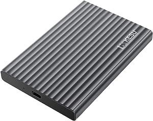 KESU 250GB Portable External Hard Drive Aluminum Alloy Type C USB3.1 HDD Storage Compatible for PC, Mac, Desktop, Laptop, MacBook, Chromebook