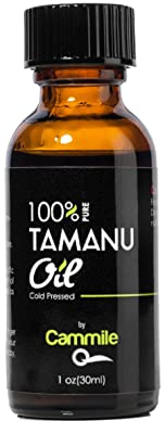 Tamanu Oil - Pure and Cold Pressed - For Skin, Nails, Face, Hair and Scars