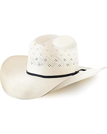 3218792d2 Resistol Men's Conoly 10X Straw Cowboy Hat