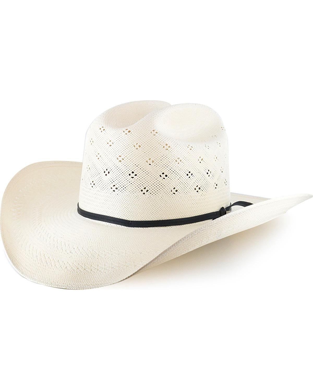 Resistol Men's Conoly 10X Straw Hat Natural 7 3/8
