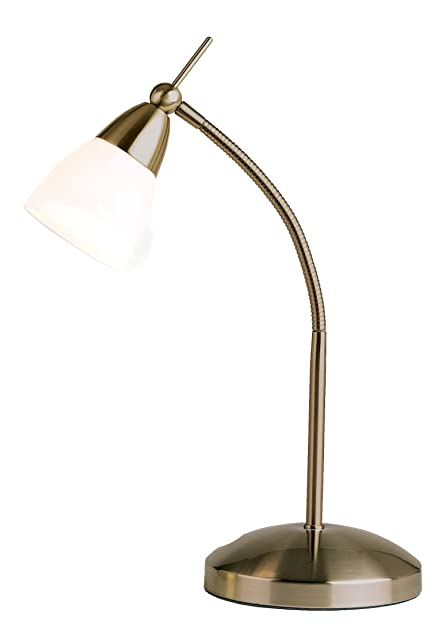 Antique Brass Desk Lamp: Amazon.co.uk: Lighting