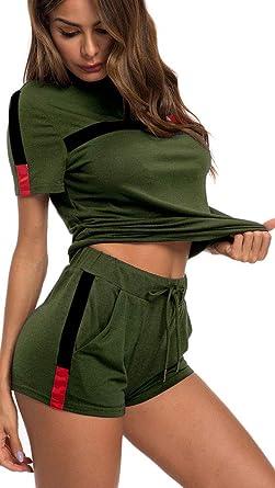 Top-Vigor - Chándal - para Mujer Verde Green#4 48 ES/XL: Amazon.es ...