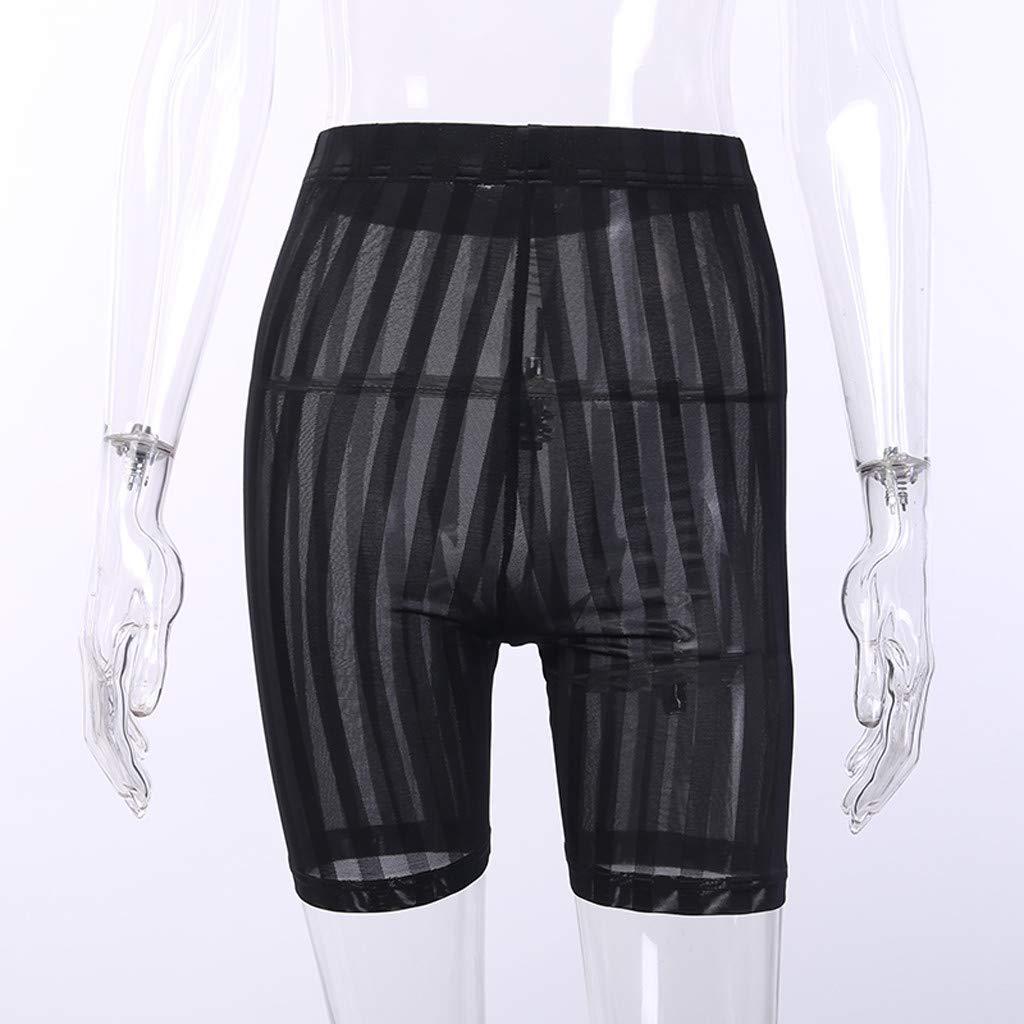 KPPONG Damen Unterhosen Reizvolles Perspektive Miederhose Shapewear Kurze Leggings Hose Sicherheit Shorts