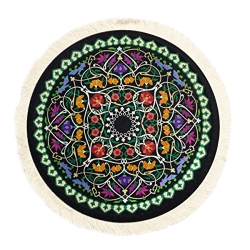 Mouse Pads Round Rug Oriental Persian Floral Mat Coaster