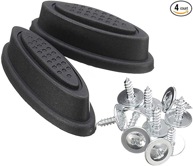 8 Packs Replacement Luggage Stud//Feet Universal Stud for All Luggage Cases