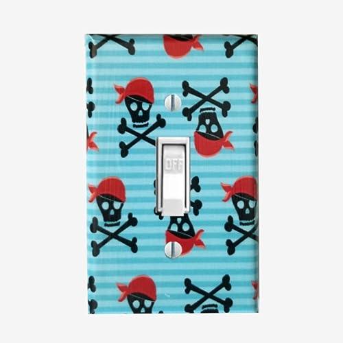 Amazoncom Crossbone Skulls Light Switch Cover Boys Pirate Bedroom