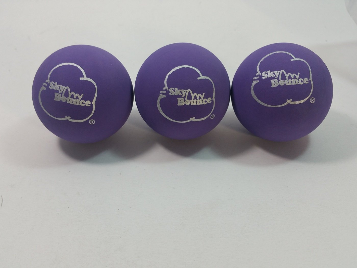 SKY BOUNCE Purple Handball Set Of 12 (1 Dozen) Balls