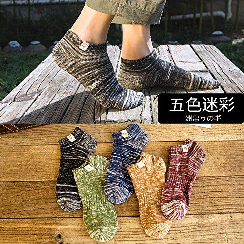 Socke Frühjahr und Sommer Baumwolle Männer deodorant Low Boot Baumwolle Sportsocken Männer helfen farblos Camouflage Excellent Product