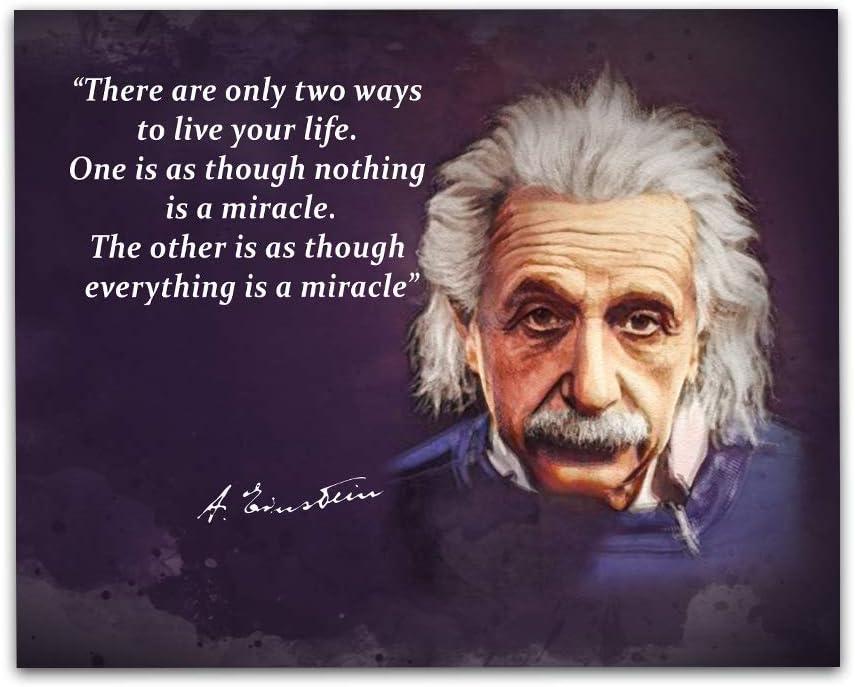 Albert Einstein Quotes Wall Art, 8