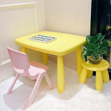 Sedie Di Plastica Colorate.Zh Tavolo E Sedie Per Bambini Set Di 3 Di Cui 1 Tavoli 1 Sedia