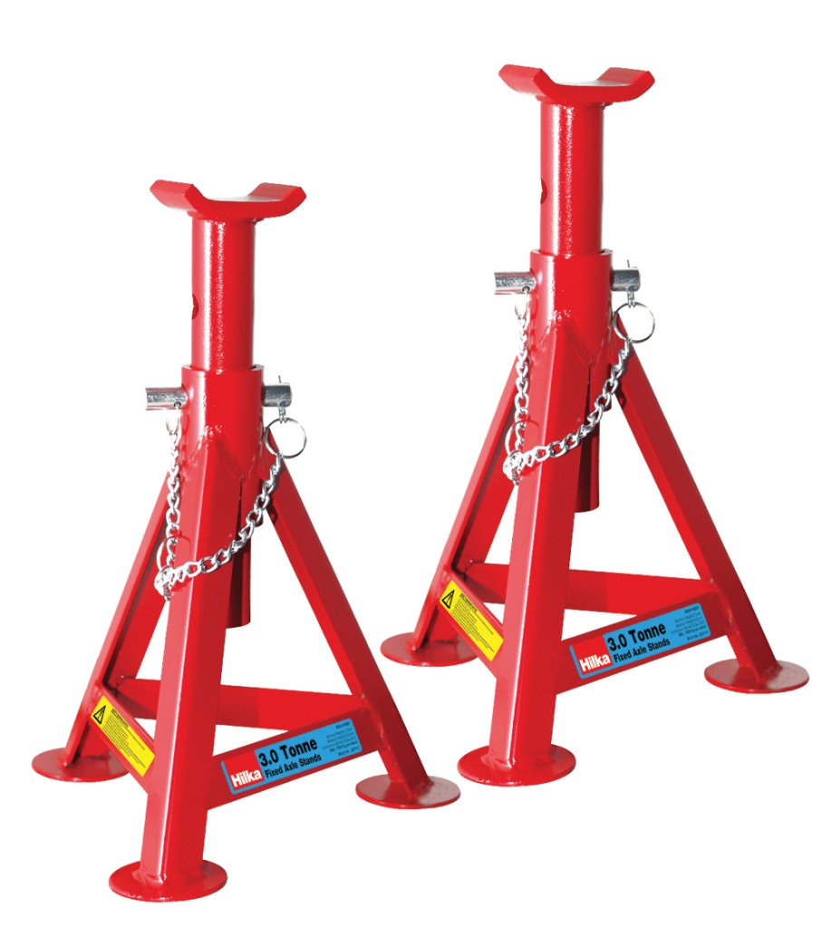 Hilka Tools 82411507 3 Tonne Fixed Axle Stands