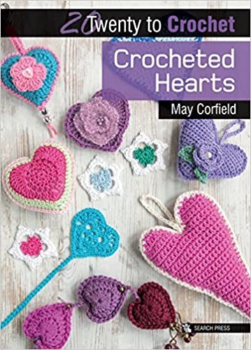 fd6ab13dbd1758 Crocheted Hearts (Twenty to Make): May Corfield: 0693508010086: Amazon.com:  Books
