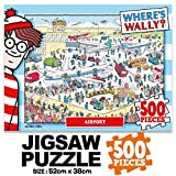 500Piece Jigsaw Puzzle Where's Wally (Waldo) Airport Hobby Home Decoration DIY
