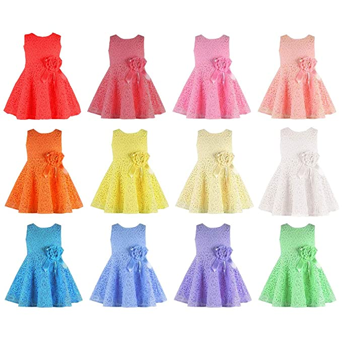 Amazon.com: Coolbabe Vestido de encaje – Vestido de fiesta ...
