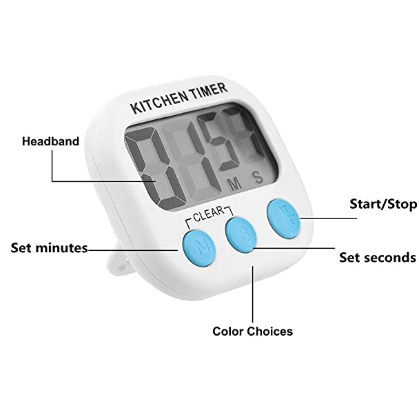 Amazon 3pack Countdown Timer Kitchen Cooking Rhamazon: 4pcs Kitchen Timer Arthome Digital Cooking Time... At Home Improvement Advice