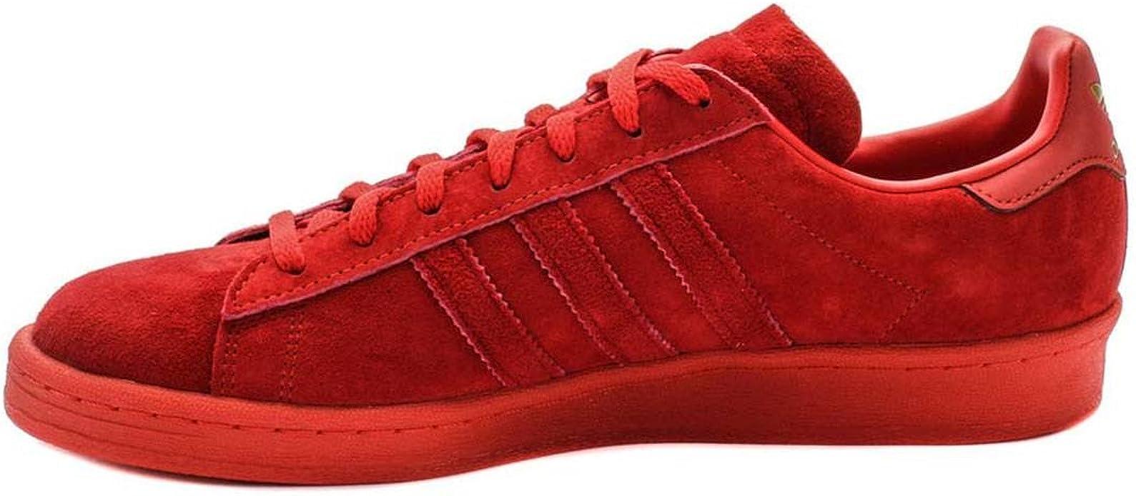 comportarse Geología web  Amazon.com | adidas Men Campus 80s (red/colred) 10.5 | Fashion Sneakers