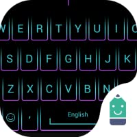 Purple Crystal Theme&Emoji Keyboard