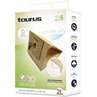 Taurus 999193000 Paquete de 5 bolsas de papel