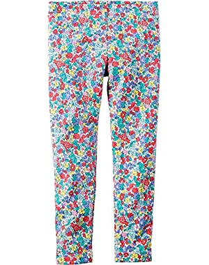 Baby Girls' Flowerbed Leggings -12 Months