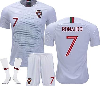 best sneakers afc1b 2680e Amazon.com: LISIMKE Soccer Team 2018/19 Portugal Away Soccer ...