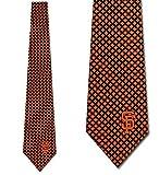 San Francisco Giants Mens Diamante Necktie by Eagles Wings