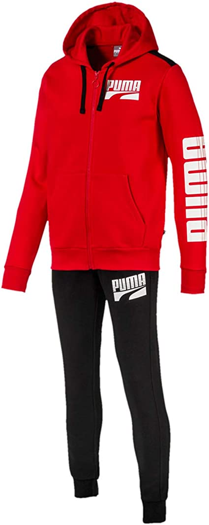 Puma 580491-11 Suit Men - Chándal para hombre, color rojo rojo S ...