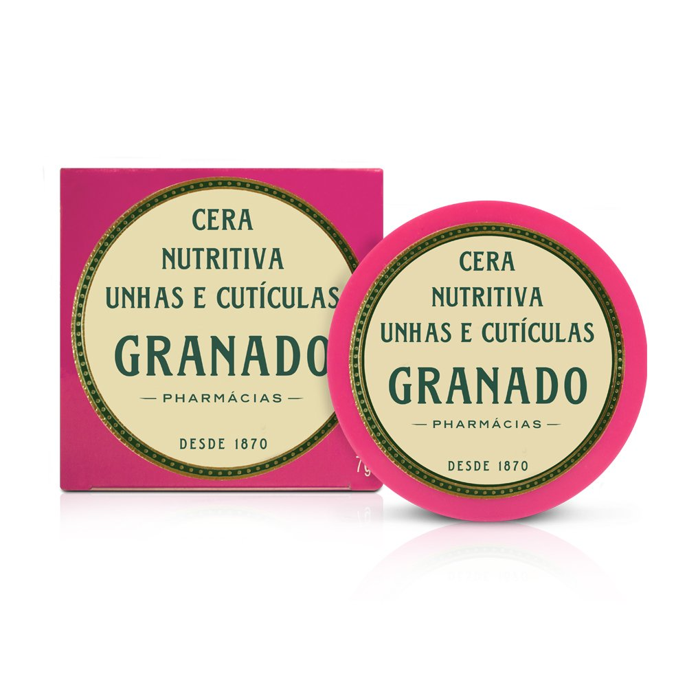 Linha Pink Granado - Cera Nutritiva Unhas e Cutículas 7 Gr - (Granado Pink Collection - Nutricious Wax for Nails and Cuticles 0.2 Oz) by Granado
