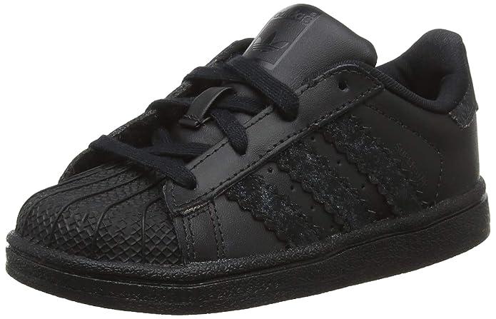 adidas Superstar Sneakers Baby Schuhe Unisex Schwarz