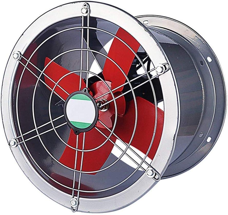 WLJ , Extractor para la Industria de Cilindros/Tienda de Metal Extractor/Extractor de Humo en la Cocina/Ventilador de Gran Flujo de Aire Ventilador de enfriamiento (Color : 10 Inches)