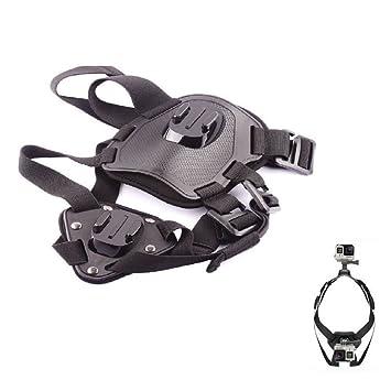 eprosperous Go Pro Accesorios Cámara de acción ajustable Dog Fetch Arnés Cinturón de pecho Cinturón Monte Para Go Pro héroe 4 3 2 SJ4000 Deporte Cámara: ...