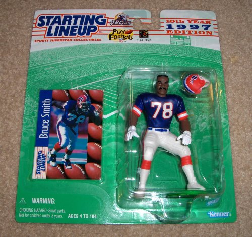 (1997 Bruce Smith NFL Starting Lineup Figure)