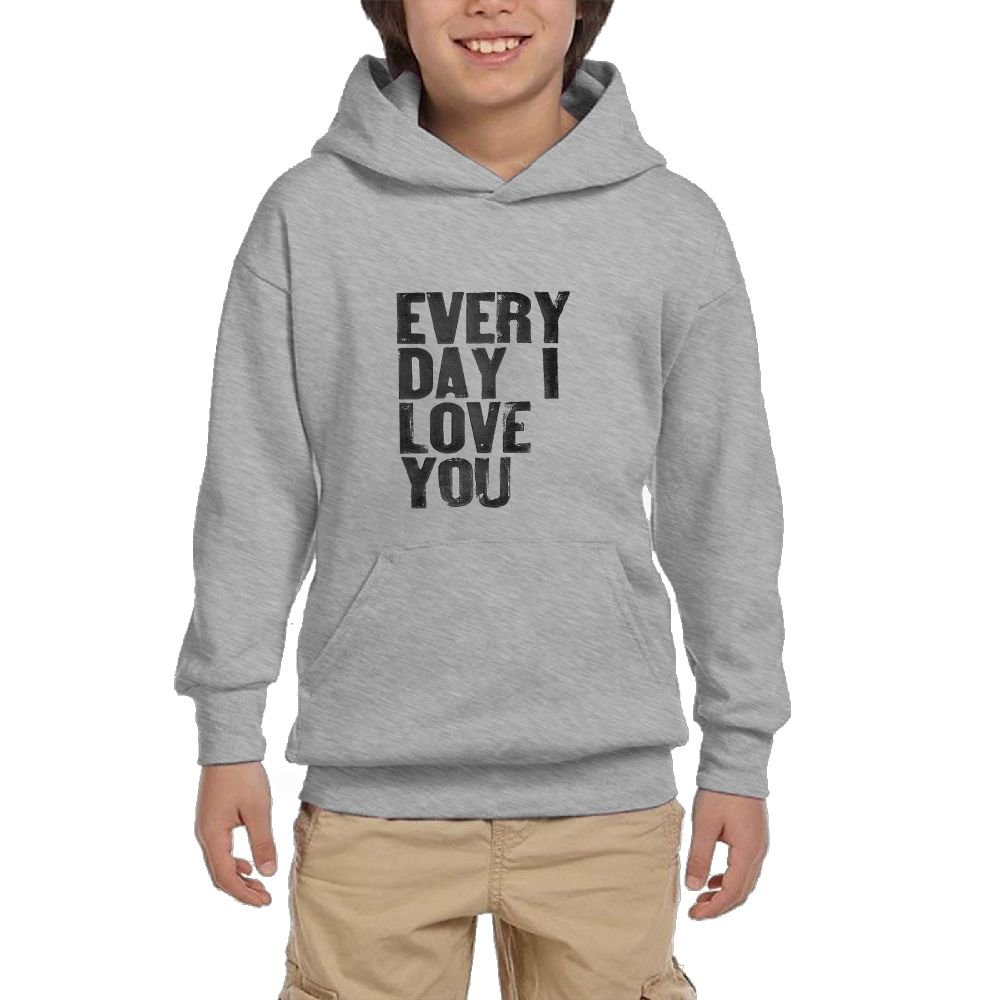 Quliuwuda Boy Love You Everyday Fashion Climbing White Sweater