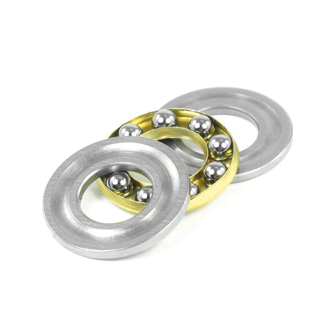 16 mm x 8 mm x 5 mm F8 * 16 Metal individual Direction impulso de rodamiento de rodillo Sourcingmap a13042400ux0485