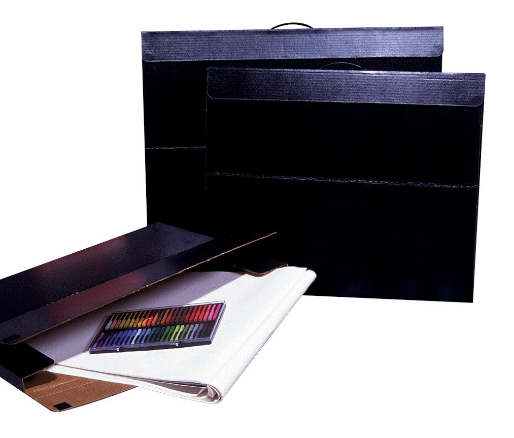 Flipside 20083 Velcro Art Portfolio Case to Protect and Transport Projects, Light-Weight, Water Retardant, 20 x 26 Size, 1.5 Height, 20.5 Width, 26.25 Length, Black 20 x 26 Size 1.5 Height 20.5 Width 26.25 Length