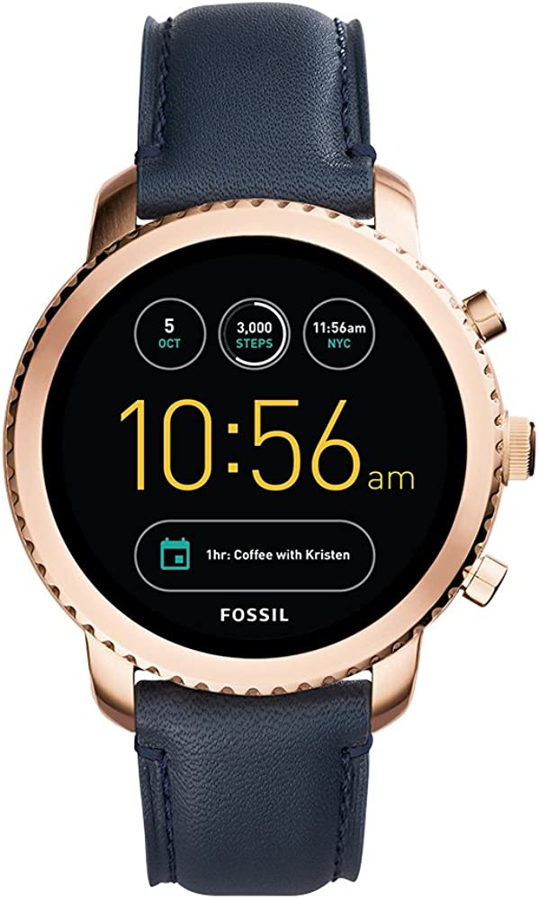 Fossil Reloj de Digital con Correa en Cuero FTW4002