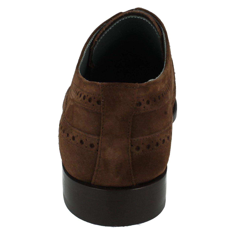 Herren Barker Formale Wildleder Wildleder Wildleder Brogue Schuhe F Style – Woodbridge ( b90b17