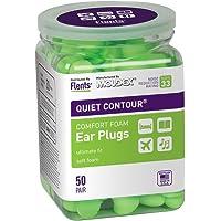 Flents - Tapones para los oídos, Verde, 50 Pair