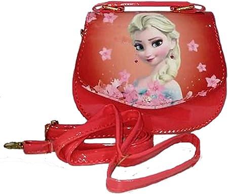 Anika Smooth Fabric Messenger Bag (Red)