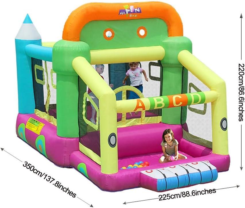 Castillos inflables Castillo De Juegos Infantiles Trampolín ...