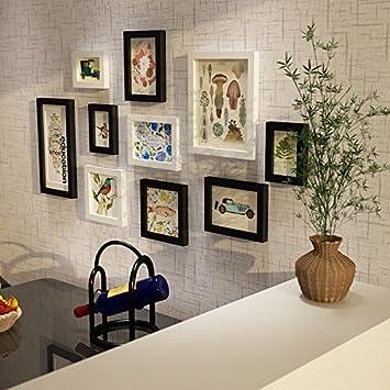 als l Massivholz Wohnzimmer Speise Foto Wall moderne einfache ...